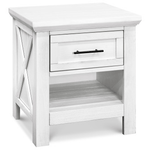 Franklin & Ben Emory Farmhouse Nightstand - Linen White