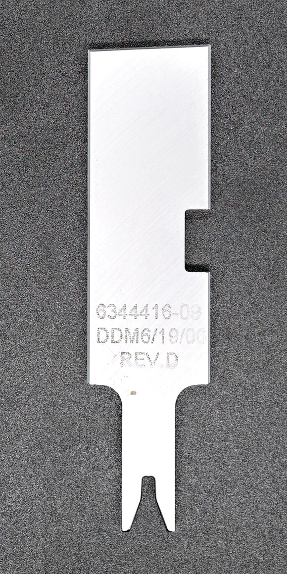 "634441609 Conductor Punch ""F"" MOLEX Applicator Tooling Die"
