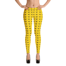 Novv St. Rivver Taxi Heart Leggings (Yellow)