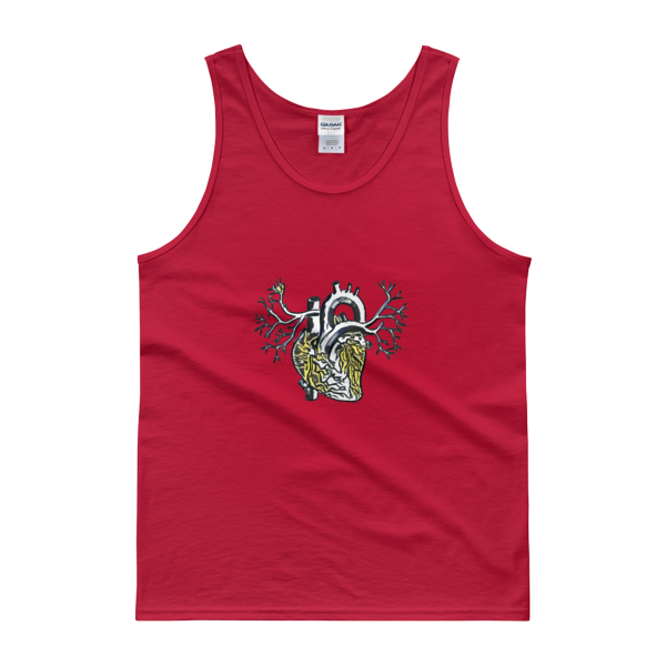 Novv St. Rivver Heart Of Gold Tank Top (Red)