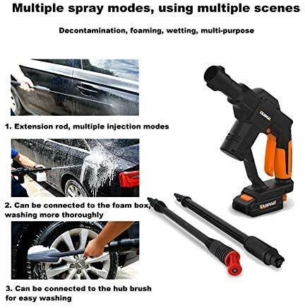 Portable Cordless Cleaner Car Washer