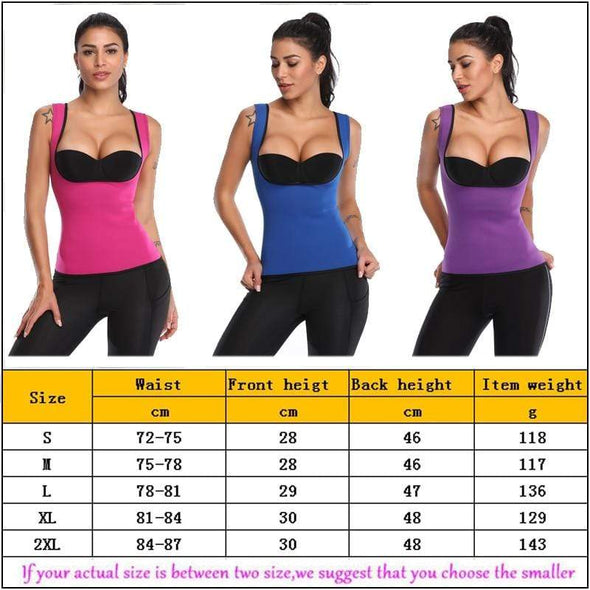 Thermal Sauna Vest Body Shaper