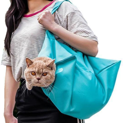 Cat Carrier Pouch - Breathable Travel Sling
