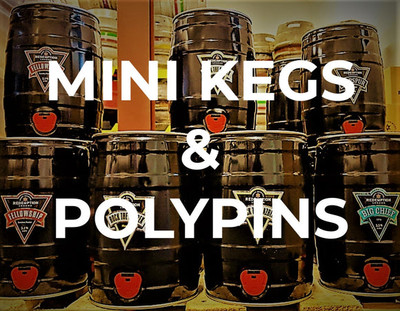 Mini kegs and polypins