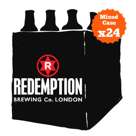 Redemption 24 beers Party Case
