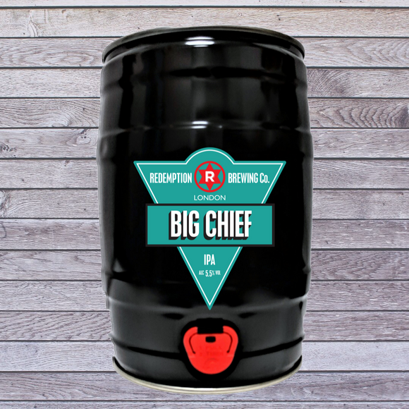 Big Chief IPA 5.5% abv - 5 litre Mini Cask