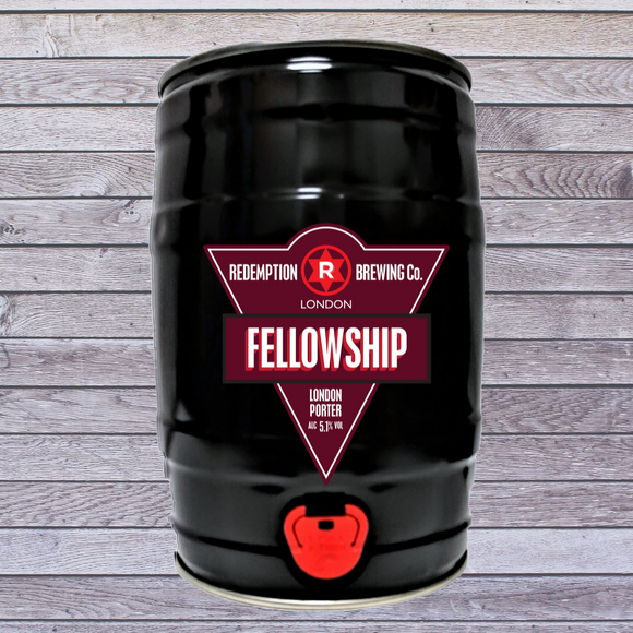 Fellowship Porter 5.1% abv - 5 litre Mini Keg