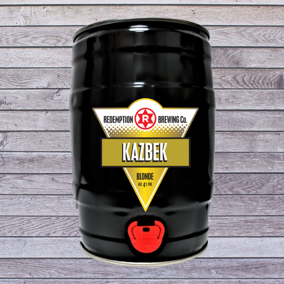 Rock the Kazbek 4% abv - 5l Mini Keg