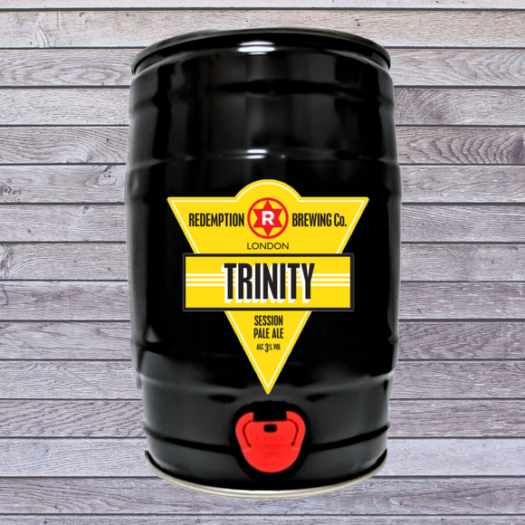 PRE-ORDER for Xmas Trinity 3% abv - 5 litre Mini Keg