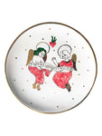 Ceramic plate with the angels
