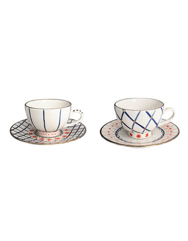 Set of two tea cups