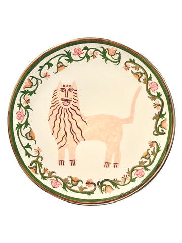 Сeramic plate with Lion