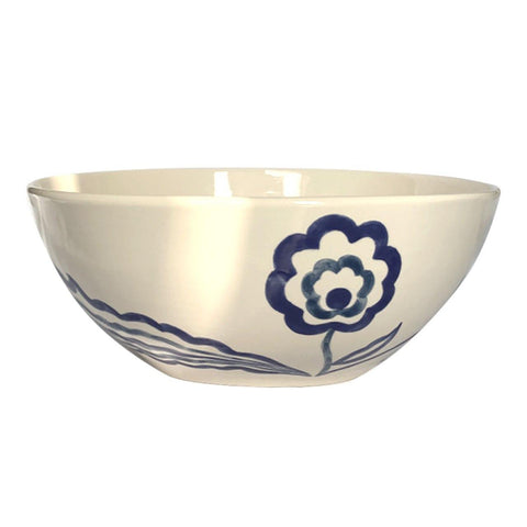 Ceramic salad bowl INDIGO
