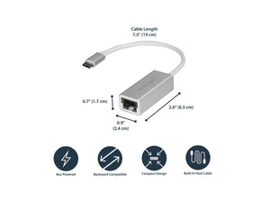 USB-C To Gigabit Network Adapter