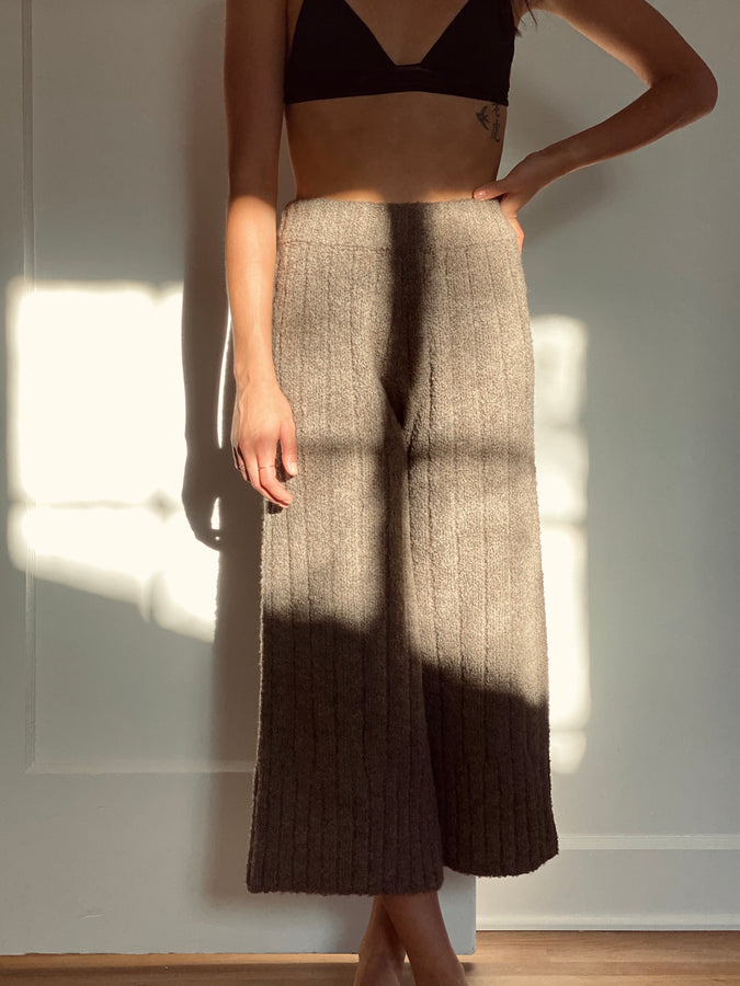 rowan knit trouser | multiple colors