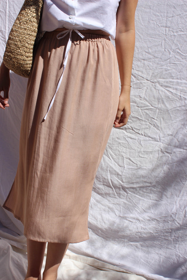 side slit skirt