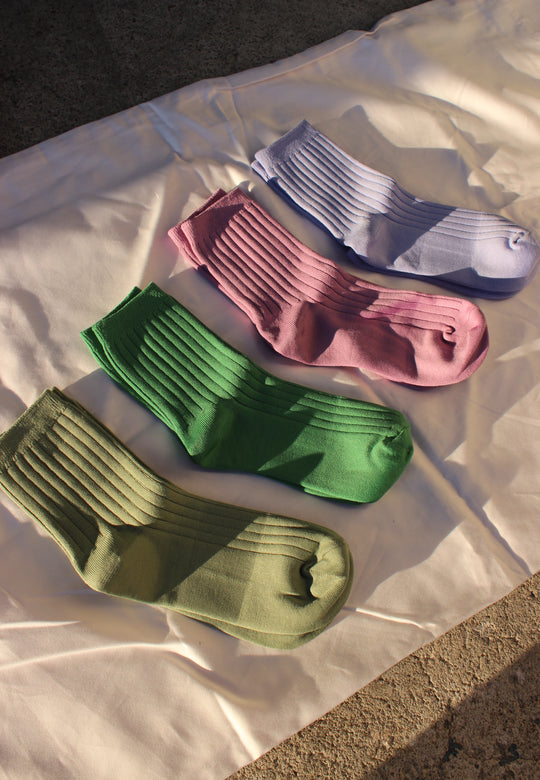 her socks | multiple colors