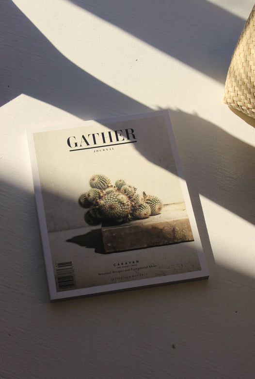 gather journal: caravan