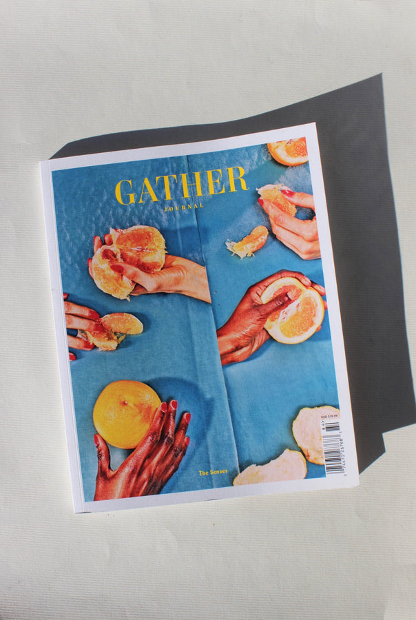 gather journal: the senses