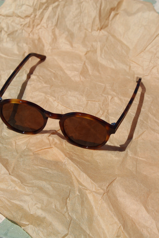 Carr sunglasses- Yellow tortoise