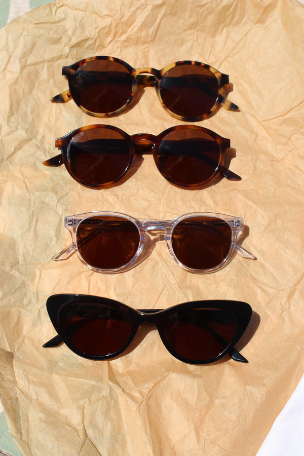 carr sunglasses | yellow tortoise/brown tortoise