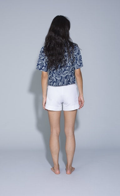 huxie shorts | chalk