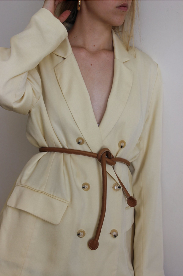 lucia jacket | citron