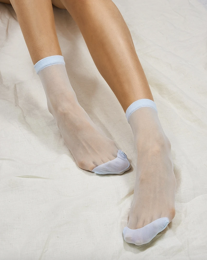 opaque toe sock | multiple colors
