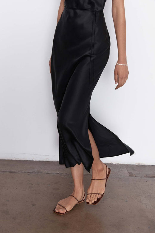 jules silk slip dress
