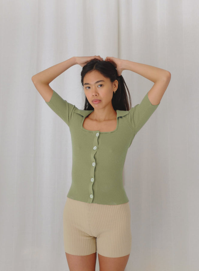 bella top | olive