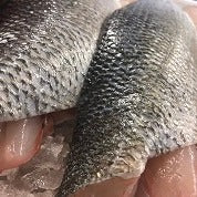 Wild Line Caught Sea Bass Fillet Portion (180g)