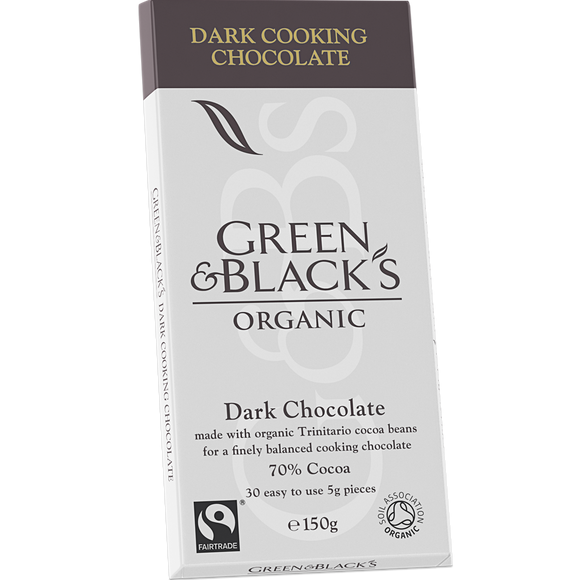 Green & Blacks Cook's Dark Chocolate 70% 150g