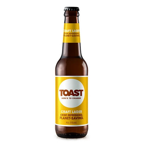 Toast (Much Kneaded) Craft Lager 330ml 5.5%