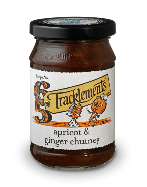 Tracklements Apricot & Ginger Chutney 320g