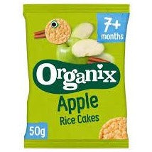 Baby Organix Apple Rice Cakes 50g