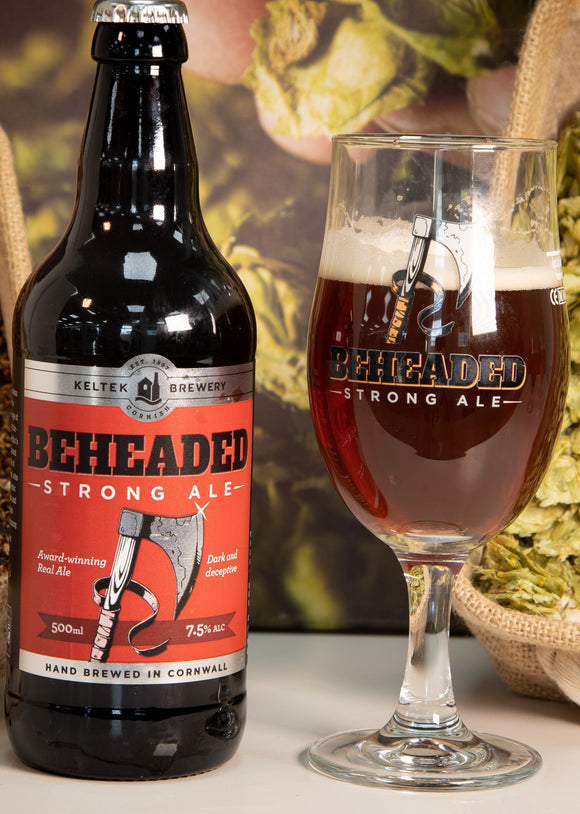 Keltec Brewery- Beheaded Strong Ale 500ml 7.5% ABV