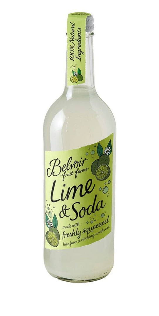 Belvoir Lime Soda 750ml