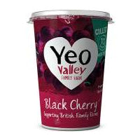 Yeo Valley Black Cherry Yoghurt 450g