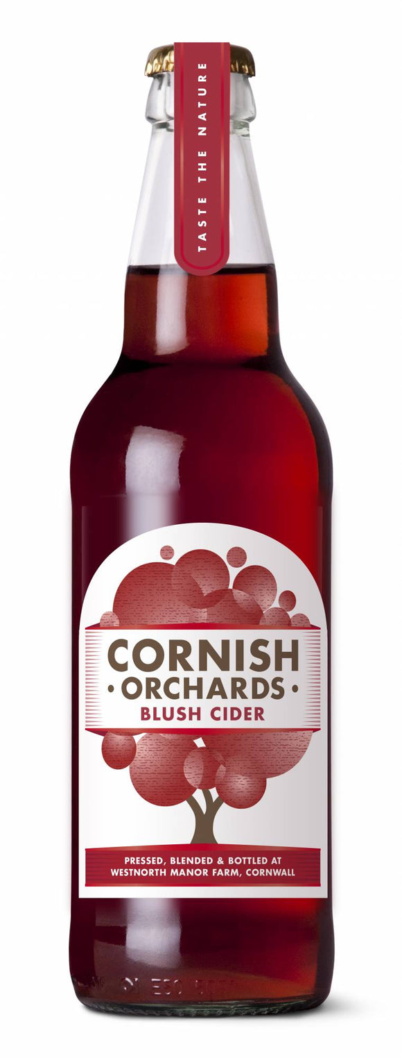 Cornish Orchards Blush Cider 500ml