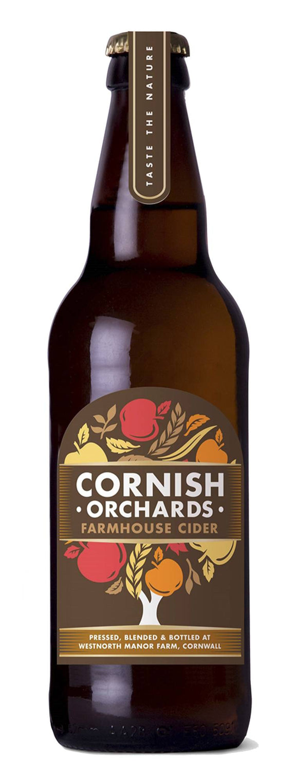 Cornish Orchards Farmhouse Cider 500ml