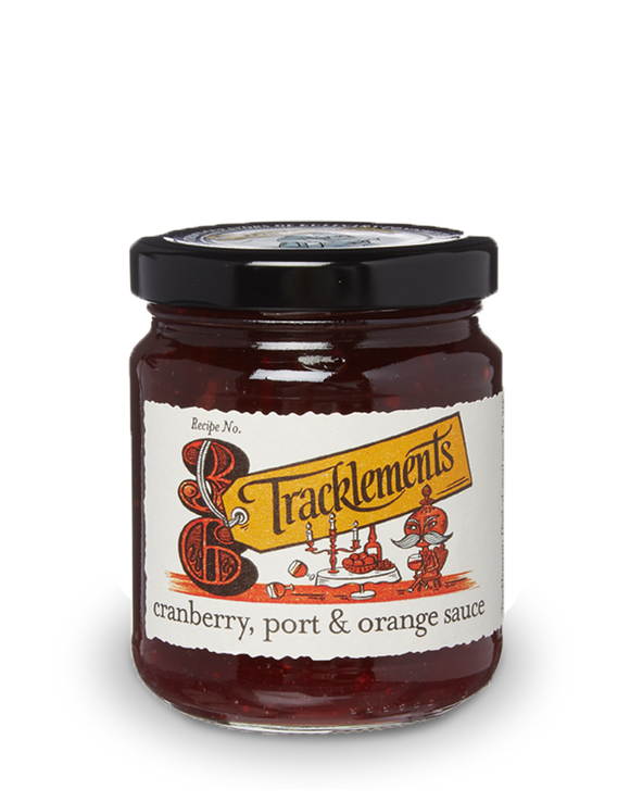 Tracklements Cranberry, Port & Orange