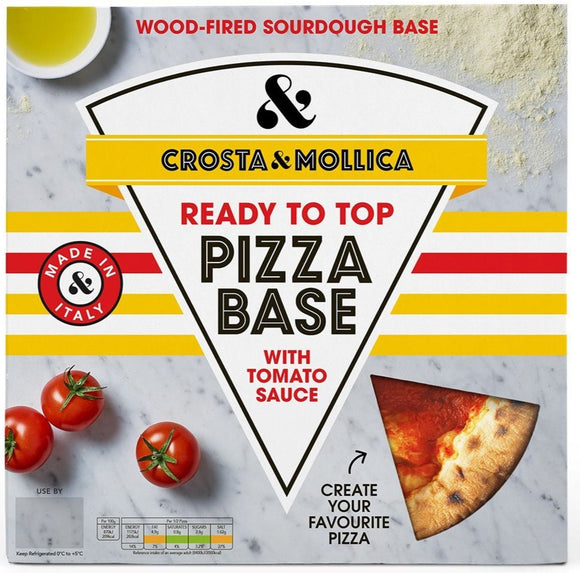 Crosta & Mollica Pizza Base 270g
