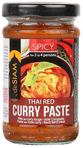 De Siam Red Thai Curry Paste 200g