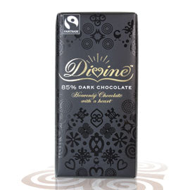 Divine Dark Chocolate 85% 90g