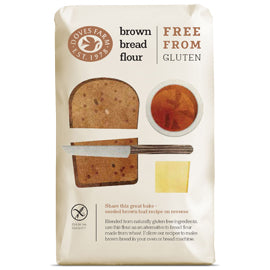 Doves Farm Gluten Free Brown Bread Flour 1kg
