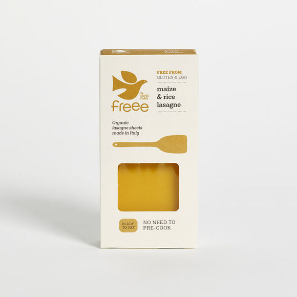 Doves Farm Gluten Free Organic Maize & Rice Lasagne 250g