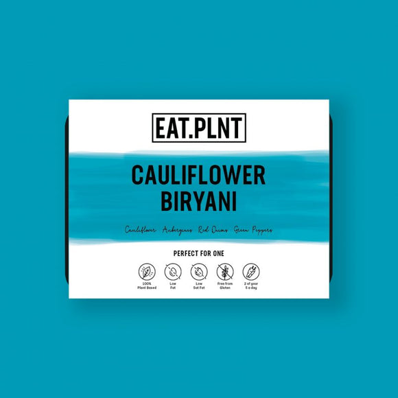 EAT.PLNT Cauliflower Biryani 350g