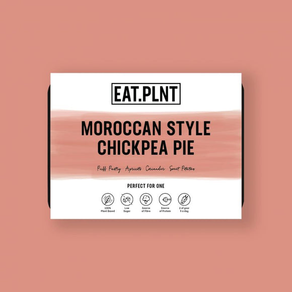 EAT.PLNT Moroccan Style Chickpea Pie 350g