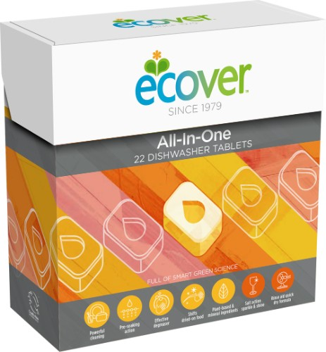 Ecover All In One Dishwasher Tabs 22
