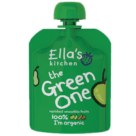 Ella's Kitchen The Green One Fruit Smoothie 90g